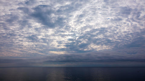 sunset and sea Footage