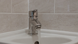 Faucet or Tap Stock Video Footage