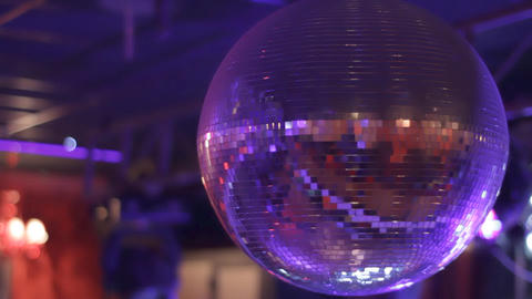 Disco ball Stock Video Footage