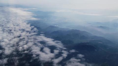 Fly thru sky Animation