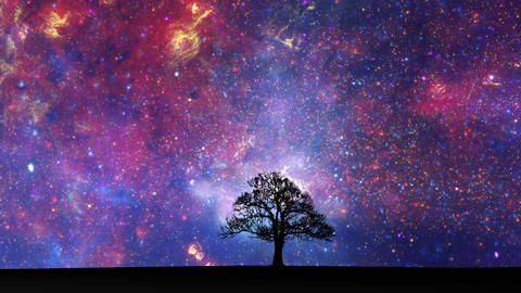 Space time lapse Stock Video Footage
