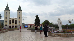 Medjugorje 1 Stock Video Footage