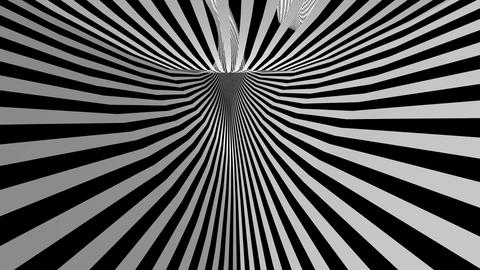 hyperspeed stripes tunnel Animation