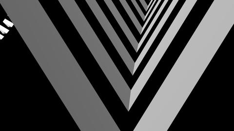 moving stripe tunnel Stock Video Footage