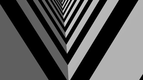 moving stripe tunnel Animation