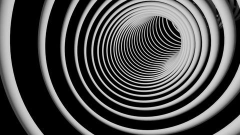 slowspeed rings tunnel Stock Video Footage