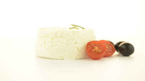 Cottage cheese Stock Video Footage