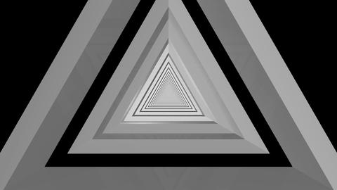 Triangle Infinite Tunnel stock footage