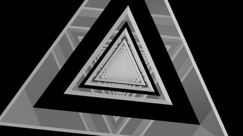 triangle tribal tunnel Stock Video Footage