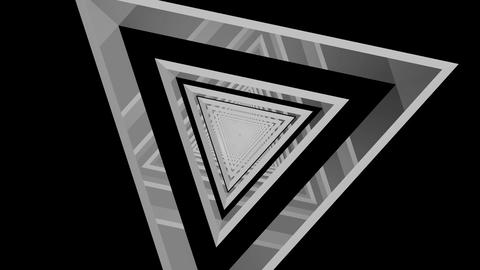 triangle tribal tunnel Animation