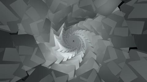 kaleidoscope cube tunnel Animation