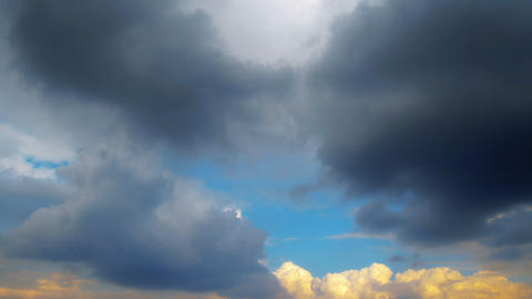 sky and cloud - timelapse Footage