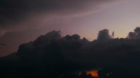 sunset - timelapse Stock Video Footage