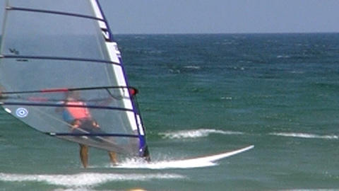 Windsurfer Stock Video Footage
