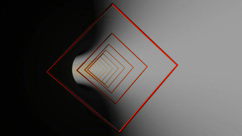 square outline reflection Animation
