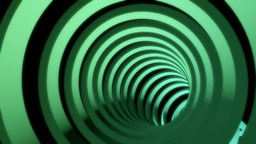 Glowing Rings Tunnel stock footage