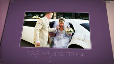 Wedding Presentation stock footage