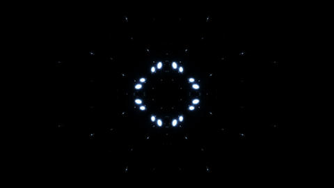 kaleidoscope Particle SF A 01 HD Stock Video Footage