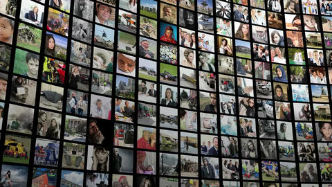 imagewall 035 Apple Motion Template