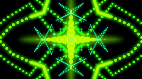 kaleidoscope dot elements Stock Video Footage