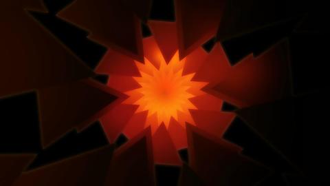 3D kaleidoscope florist Stock Video Footage
