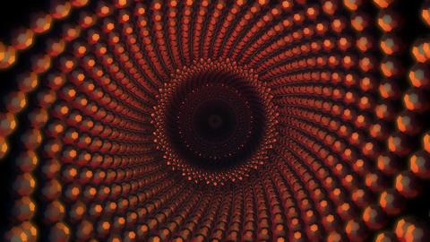 3D ball array turbulence Stock Video Footage