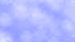 Flight In Snowing Clouds - Loop Animation
