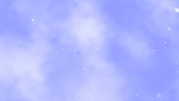 Flight In Snowing Clouds - Loop Stock Video Footage