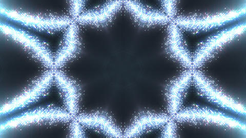 kaleidoscope particles 2 A 0a HD Stock Video Footage