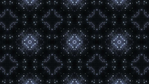 kaleidoscope particles 2 A 2a 2 HD Stock Video Footage