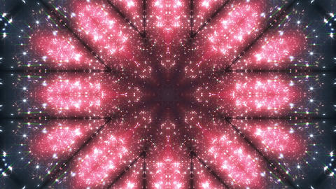 kaleidoscope particles 2 B 2a HD Animation