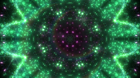 kaleidoscope particles 2 C 1a 2 HD Stock Video Footage