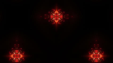 kaleidoscope particles 2 Cr 1b HD Stock Video Footage