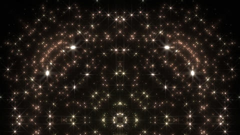 kaleidoscope particles 2 D 1a 2 HD Stock Video Footage
