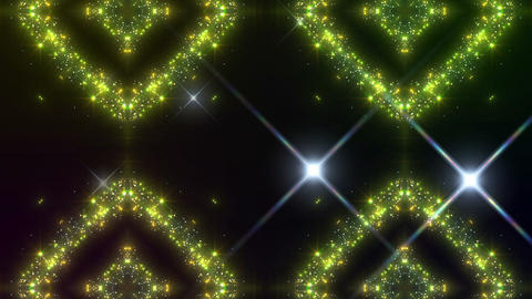 kaleidoscope particles 2 D 3a HD Stock Video Footage