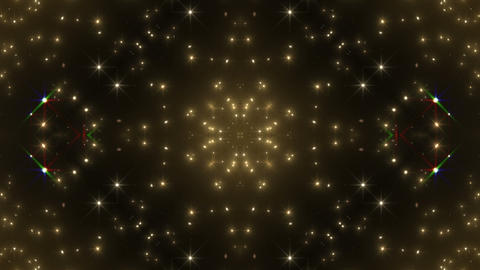 kaleidoscope particles 3 C 1aa HD Stock Video Footage