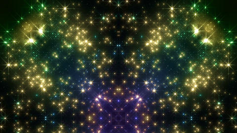 kaleidoscope particles 3 Dr 1a 3 HD Stock Video Footage