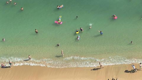 Waikiki Beach Stock Video Footage