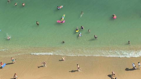 Waikiki Beach Footage