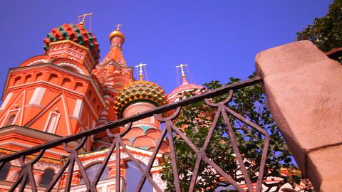 sunny Moscow kremlin Footage