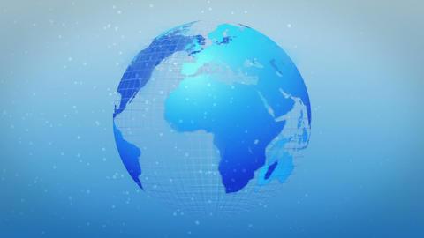 earth rotate ice age image loop Stock Video Footage