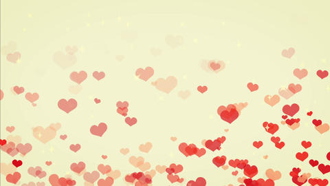 heart line cute color, backgraund Animation