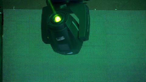 Light Show HD Stock Video Footage