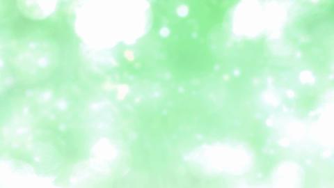 green glitter loop Stock Video Footage