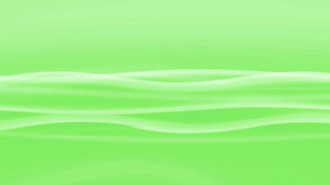 Simple Wave Green Loop Stock Video Footage