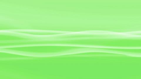 Simple Wave Green Loop Stock Video Footage