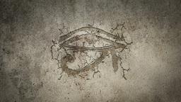 Christian Symbol Appearing On A Wall stock footage