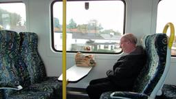 Intercity Train 2 Stock Video Footage