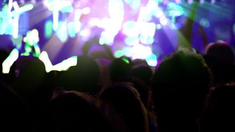 Euphoria Music and Light Stock Video Footage