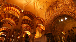 Mosque-Cathedral in Cordoba, Spain Footage